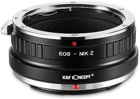 Adaptador de montaje de la lente para Nikon F//AI//AIS//// AF-S Monte D Lente Canon EOS R Cámara