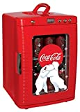 Coca-Cola KWC-25 28-Can Capacity Portable 12-V Car Fridge with LED Display