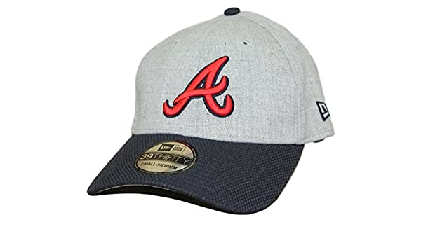 bd96ad95e23 ... australia amazon atlanta braves new era mlb 39thirty change up redux flex  fit hat sports outdoors ...