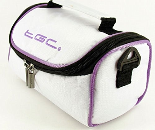 TGC Red Crimson White Trims Cool with Blanco Cool Purple Electric Trims Bolso With Hombro para al Mujer White rrwHRq