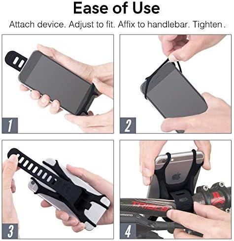 Universal Handyhalterung Für Smartphones Für Alle Fahrrad Motorrad Kinderwagen Einkaufswagen Für Alle Lenker Auto