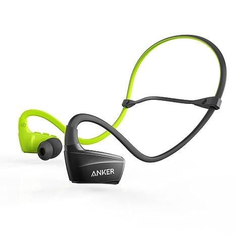Anker Cuffie Bluetooth SoundBuds Sports-Auricolari Bluetooth in-Ear con  Tasso di Protezione da 6236da05af24