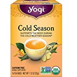 Yogi Tea - Cold Season (6 Pack) - Supports the Body During the Cold Weather Season - 96 Tea Bags Total