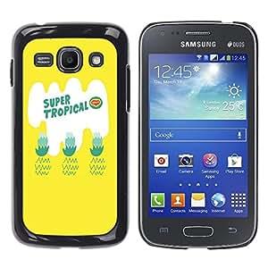 Dragon Case - FOR Samsung Galaxy Ace 3 - super tropical - Caja protectora de pl??stico duro de la cubierta Dise?¡Ào Slim Fit