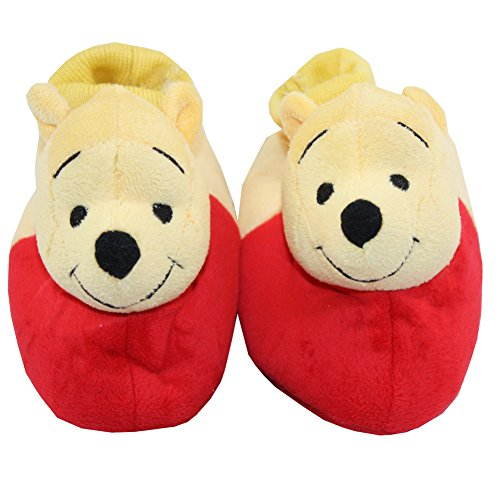 Disney Winnie The Pooh Plush Slippers X-Small / 3-4 M US Toddler