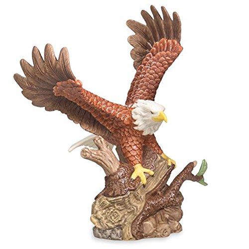 - Lenox American Bald Eagle Bird Figurine Patriotic Liberty Symbol Porcelain