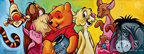 Tim Rogerson Hundred Acre Friends - From Disney Winnie the Pooh Disney Art