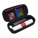 Esimen Storage Hard Case for Osmo Genius Kit,fits OSMO Base/Starter/Numbers/Words/Tangram/Coding Awbie Game Protective Box (Black)