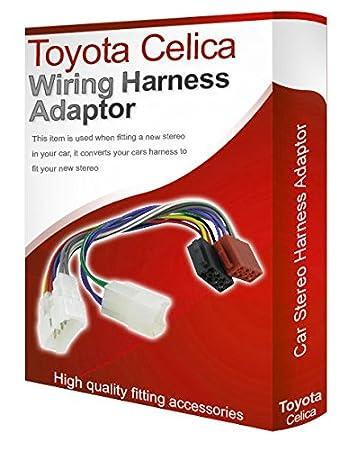 toyota corolla cd radio stereo wiring harness adapter amazon co uk rh amazon co uk