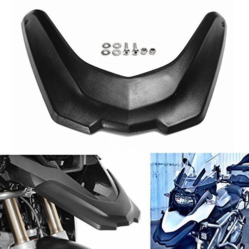 Motorcycle Front Extender Wheel Cover Cowl Mudguard Beak Extension For BMW R1200GS LC 13-16