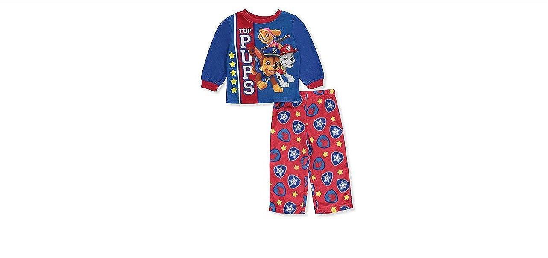 Nickelodeon boys Paw Patrol 2-piece Fleece Pajama Set AME Sleepwear Children' s Apparel