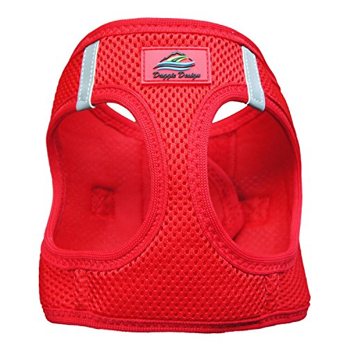 CHOKE FREE REFLECTIVE STEP IN ULTRA HARNESS ★ RED ★ ALL SIZES ★ AMERICAN RIVER (XXS) ()