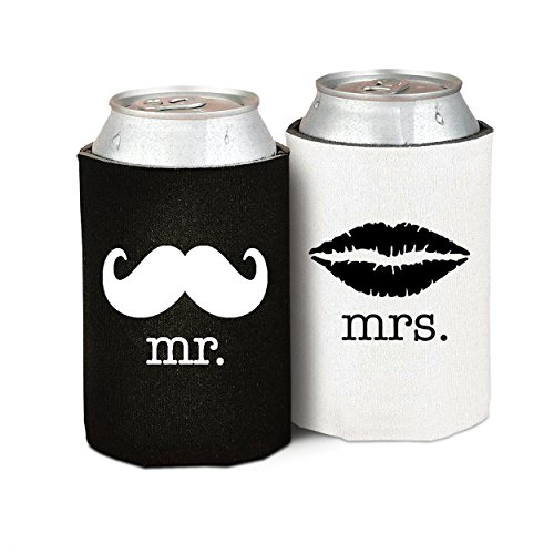 Mrs Wedding Anniversary Newlywed Cooler product image