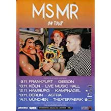 MS MR - Secondhand Rapture 2013 - Poster, Concertposter, Concert