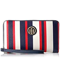 Tommy Hilfiger Th Signature Painted Stripe Wristlet