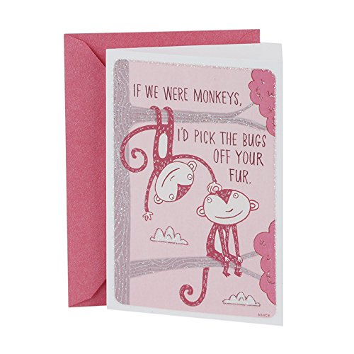 Hallmark 0369VFE7185 Shoebox Funny Valentine's Day Greeting Card for Romantic Partner (Adult Greeting Card)