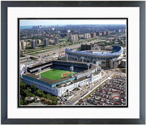 Chicago White Sox Comiskey Park MLB Stadium Photo (Size: 22.5