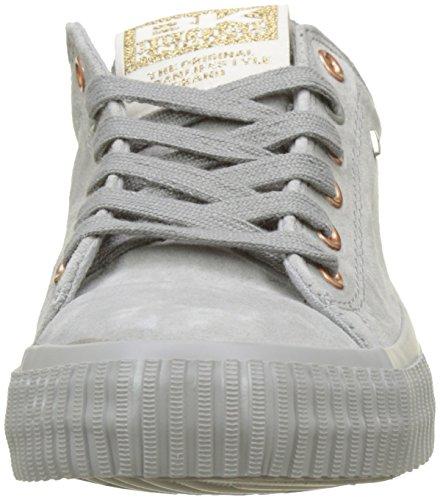 Cavalieri Britannici Damen Master Lo Sneaker Grau (lt Grigio / Oro Rosa)