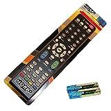 HQRP Remote Control for Sharp AQUOS LC-32BX5M LC-32BX6M LCD LED HD TV Smart 1080p 3D Ultra 4K + HQRP Coaster