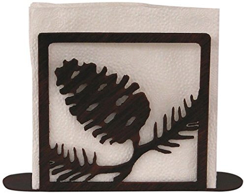 Iron Pine Cone Napkin Holder (Holder Pinecone Napkin)