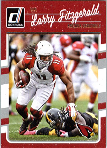 2016 Donruss #2 Larry Fitzgerald Arizona Cardinals Football Card (Cardinals Card Football)