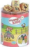 Aladine 3003311 - Stampo Kids Lili auf dem Bauernhof, 16-teilig
