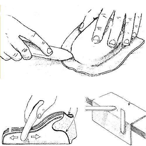 Amazon Com Vencink Genuine Bone Folder Crafts Scoring Folding
