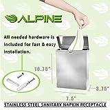 Alpine Industries Sanitary Napkin Receptacle