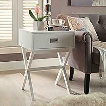 Convenience Concepts Landon End Table, White