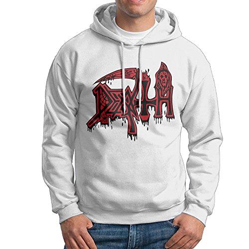 Men American Death Metal Band Death Rock Pullover Hooded Sweatshirt