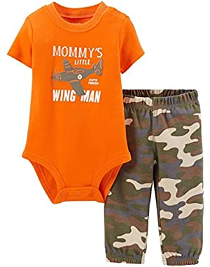 Baby Boys' 2 Piece Layette Set (Baby) - Wing Man