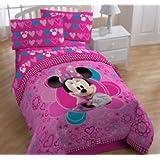 Disney Minnie Mouse Bow-tique Twin Sheet Set