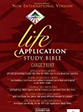 img - for NIV Life Application Study Bible, Large Print book / textbook / text book
