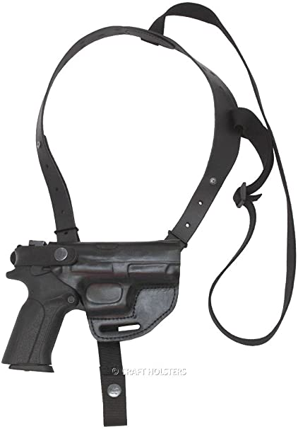 Amazon.com : Smith & Wesson J Frame Leather Horizontal Shoulder ...