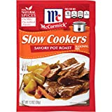McCormick Savory Pot Roast Slow Cookers Seasoning Mix offers an easy-to-prepare solution for this slow cooker classic. Made with natural herbs and spices, our expertly blended mix of black pepper, basil and oregano adds bold, home-style flavo...