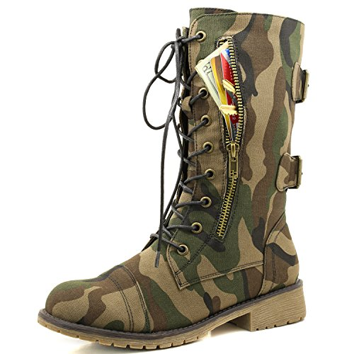 Women's Military Lace Up