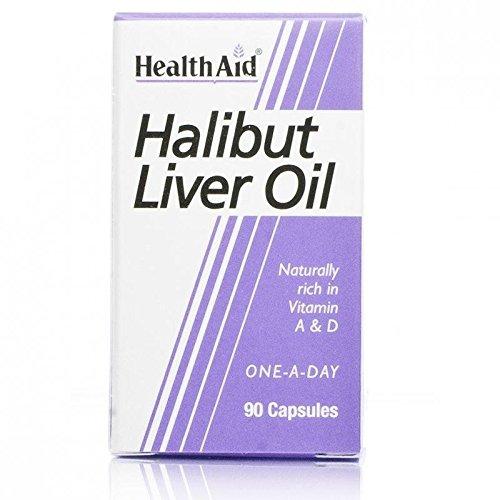 (10 PACK) - HealthAid - Halibut Liver Oil | 90's | 10 PACK BUNDLE by Health Aid