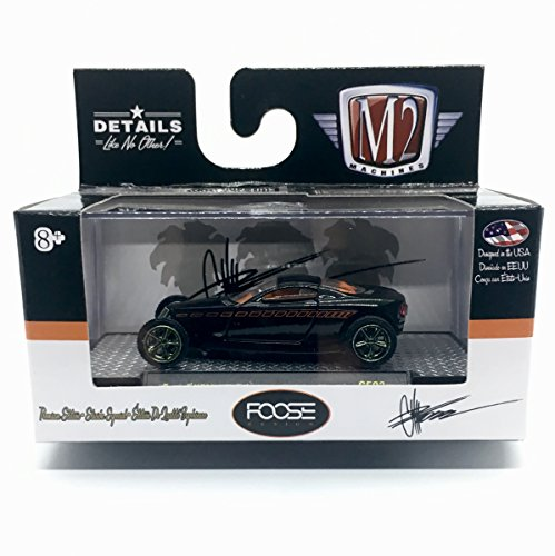 M2 Machines Limited Edition SUPER CHASE Piece FOOSE HEMISFEAR (Gloss Black Body w/Gray Graphic) Chip Foose Release 3 - Castline 2016 Special Edition 1:64 Scale Die-Cast Vehicle (1 of only 250)