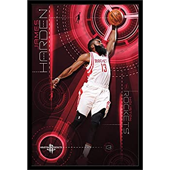 206900407cd3 Amazon.com  Trends International Wall Poster Houston Rockets James ...