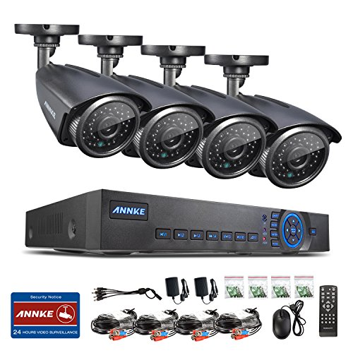 ANNKE 4ch 720P DVR Recorder with 4x HD 1