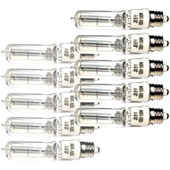 eTopLighting 10 Bulbs 120V 100W Halogen Replacement