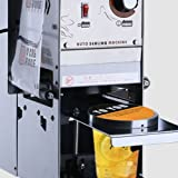 220v 350W Automatic Plastic Cup Sealing Machine Cup Sealer for Cup Size 9.0/9.5cm