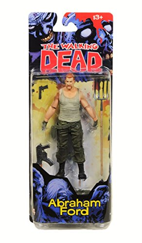 - McFarlane Toys The Walking Dead Comic Series 4 Abraham Ford Action Figure
