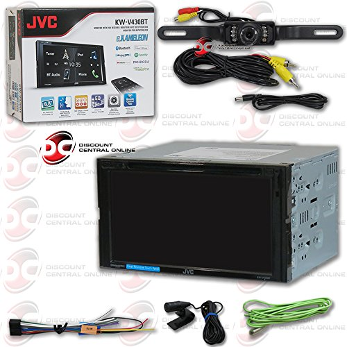 jvc touch screen car stereo - 9