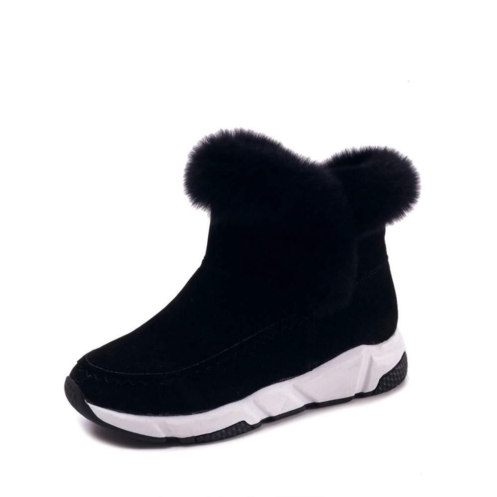 XPFXPFX Sport Freizeit Mode Outdoor Winter Frauen Schuhe Frau Schnee Stiefel Ankle Warme Plattform Keil Femme Damen Stiefel Schwarze Schuhe