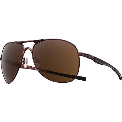 Amazon.com: Oakley anteojos de sol PLAINTIFF Koston SS café ...