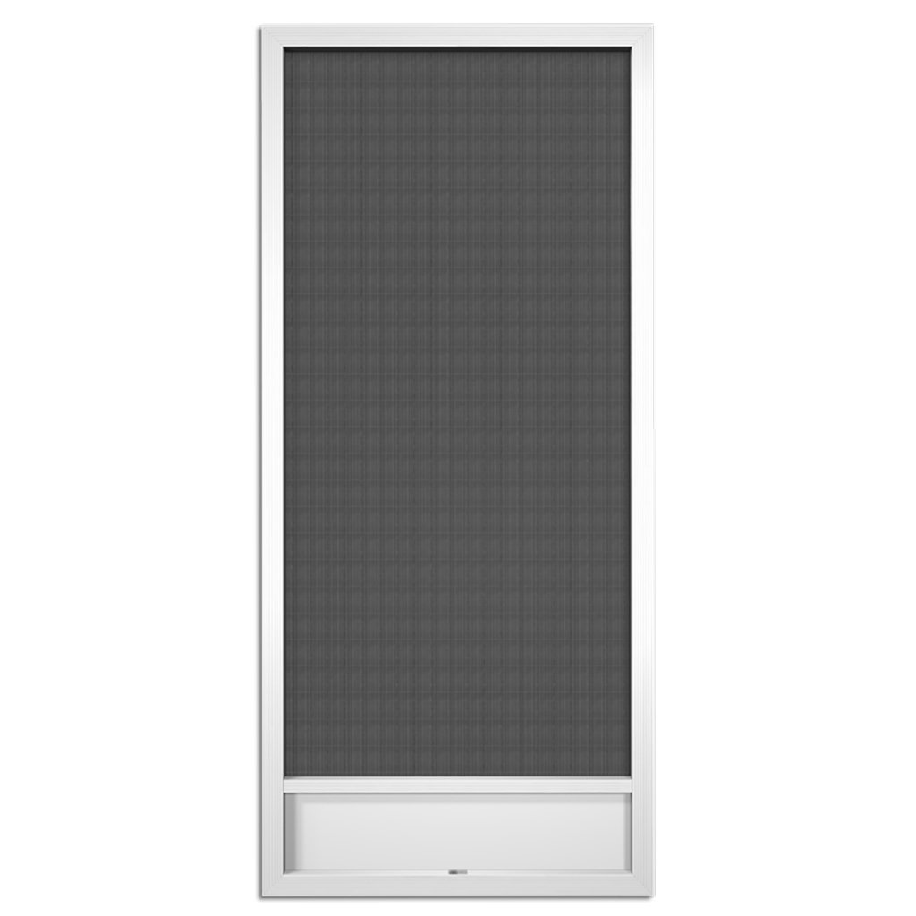 Still Waters White Aluminum Screen Door (80x36) by PCA Products (Image #1)