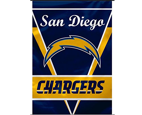 (NFL San Diego Chargers 1 Sided House Banner, 28