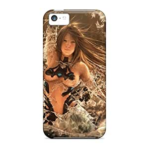 Favorcase Snap On Hard Cases Covers Water Fairy Protector For Iphone 5c