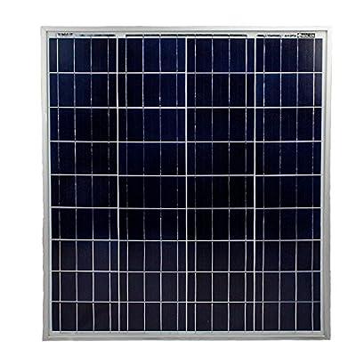 80 Watt Polycrystaline Solar Panel - Mighty Max Battery brand product